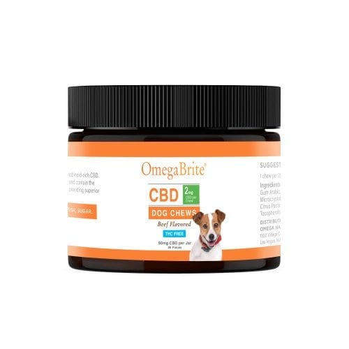 OmegaBrite CBD Dog Treats